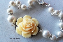 Floral Bridal Jewellery / by Mary Grace Jewellery