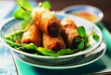 La cuisine vietnamienne / Bienvenue au #Vietnam : #nems #légumes / by Picard Surgelés