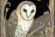 Animals, birds, creatures in art / by Gwen Ahlers