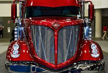 Big Trucks for Cooper / Cool big rigs / by Tracy Wade