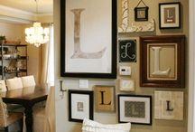 wall art ideas!!!! / by Jennifer Giambanco