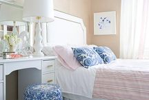 "Navy & Pink / Navy and Pink Rooms / by JWS Interiors ""Affordable Luxury"" Blog"