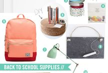Back to School / by Amy Ehmann // Design Lotus