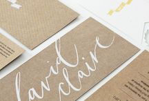 Wedding Inspiration - Paper Goods / by Jessica Burke // Fine Art Wedding Photographer