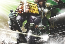 Comic - Judge Dredd / He is The Law / by Mick Selas