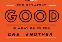 For the Good of Humanity! / It's made out of kindness and tolerance  / by Areshea G