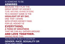 Hockey / by Kristi hansen