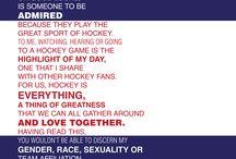Hockey / by Kristi hansen