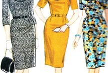 1960s Sewing Patterns / Just a little bit of everything.... from wiggle dresses to wonderful hippie styles! / by Cloes Closet