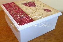 caixas decoradas / by Ponto Country Curitiba (41) 33624215
