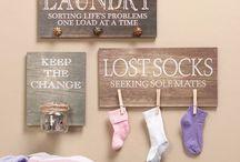 Laundry Room Ideas / by Kathy Gagliano