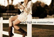Black Heels & Tractor Wheels / by Megan Dewese