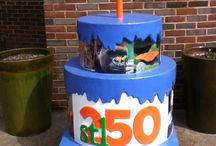 Cakeway to the West / Part of the StL250 celebration for the 250th birthday of St Louis, Mo. 250 cakes all over the StL metropolitan area MO and IL / by Kelly Davis
