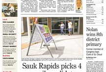 Aug. 15, 2012, front page / by St. Cloud Times newspaper/online