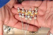 Stick pins & Charms / by Gloria Morizen