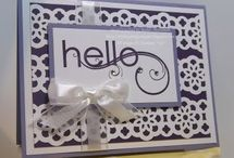 CARDS - Stampin up punches / by Angie Brown :)
