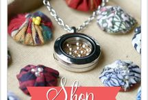 South Hill Designs by Shannon Alongi  / Gorgeous One of a Kind Custom Lockets  / by Shannon Alongi
