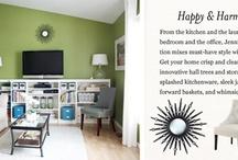 Home Decor - Living Room / by Stefanie McGill