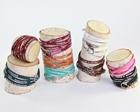 Jewlery / $88.00 Handmade Silk Bracelet/Necklace / by SueBDo .com