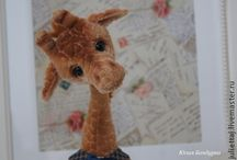 Жираф - giraffe - la jirafa / Жираф - giraffe - la jirafa / by Татьяна Авдеева