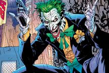 Joker / Don't make us laugh. The green hair. The crazed smile. The maniacal cackle. You know exactly who he is and how far he'd go to put a smile on your face. / by DC Comics