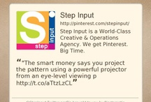 Chat to Us! Step Input is on Facebook & Twitter / by ┌─Step Input─┘ ☼Brilliant☼ Digital Agency