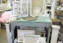 Antique booth and market ideas / by Lea Ann B.