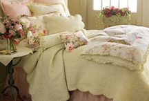 SWEET DREAMS / Beautiful bed linens are my weakness!   / by Carolyn Fisk