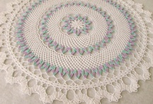 Pretty doilies / beautiful crocheted, linen and lace doilies / by Beth Joest
