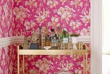 bar carts / by Jenny Tamplin Interiors - Interior design