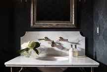 Powder Room Ideas / by Kate Shih