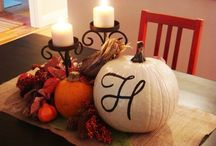 Thanksgiving Decor / by Holly Datsopoulos
