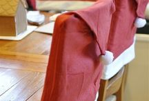 Chair Covers / To sparkle up the table! / by Shirley Fredericks