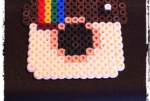 Hama Bead ideas  / by Lucy Bishop