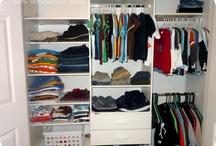 Franco's closet redo  / by Stephanie Koutoulas
