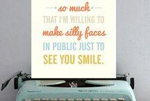 Words / by Chelsea Walton