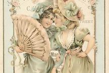 vintage cards / by Elly van Ameijde