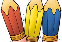 colored  Drawings / by Monika Gallard