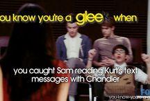 Glee stuff  / by Sara Hazelrigg