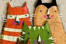 Cats crafting / by Jo Arlt