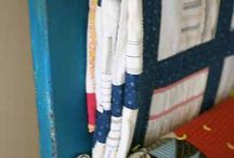 Quilt Display & Storage / How do you store your quilts? / by Bonnie K Hunter