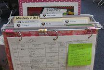 School: Classroom Organization / by Lauren Collins