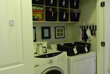 Laundry room ideas! / by Elise Story