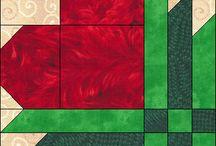 Blocos patchwork / by Rosália Klaus
