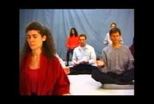 Osho Meditation Videos / Osho Active Meditations combine all certain activities like shaking, dancing, jumping, humming and others to lead into silence and meditation. Music is used as a background for all these meditations. / by New Earth Records