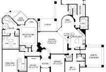 Planos de casas / by Rhynia Reinefeld