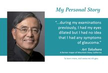 Personal Stories / Patients share their stories about living with eye diseases and conditions. / by National Eye Institute, NIH