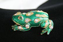 Frog jewelry / Frog jewelry / by Clara Mecum