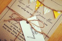 Save the Dates / Invites / by hiccupcakes