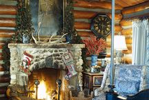 Country Houses / by Pine Cones and Acorns Blog